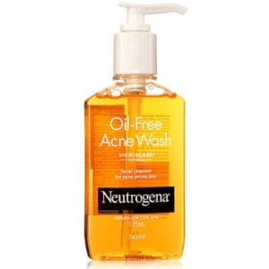 oil free Acne wash