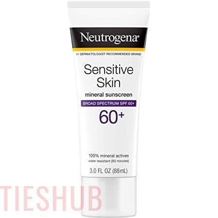 NEUTROGENA Sensitive Skin Sunscreen Lotion Broad Spectrum SPF 60