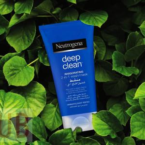 NEUTRPGENA Deep Clean Invigorating 2-in-1 Face Wash Mask